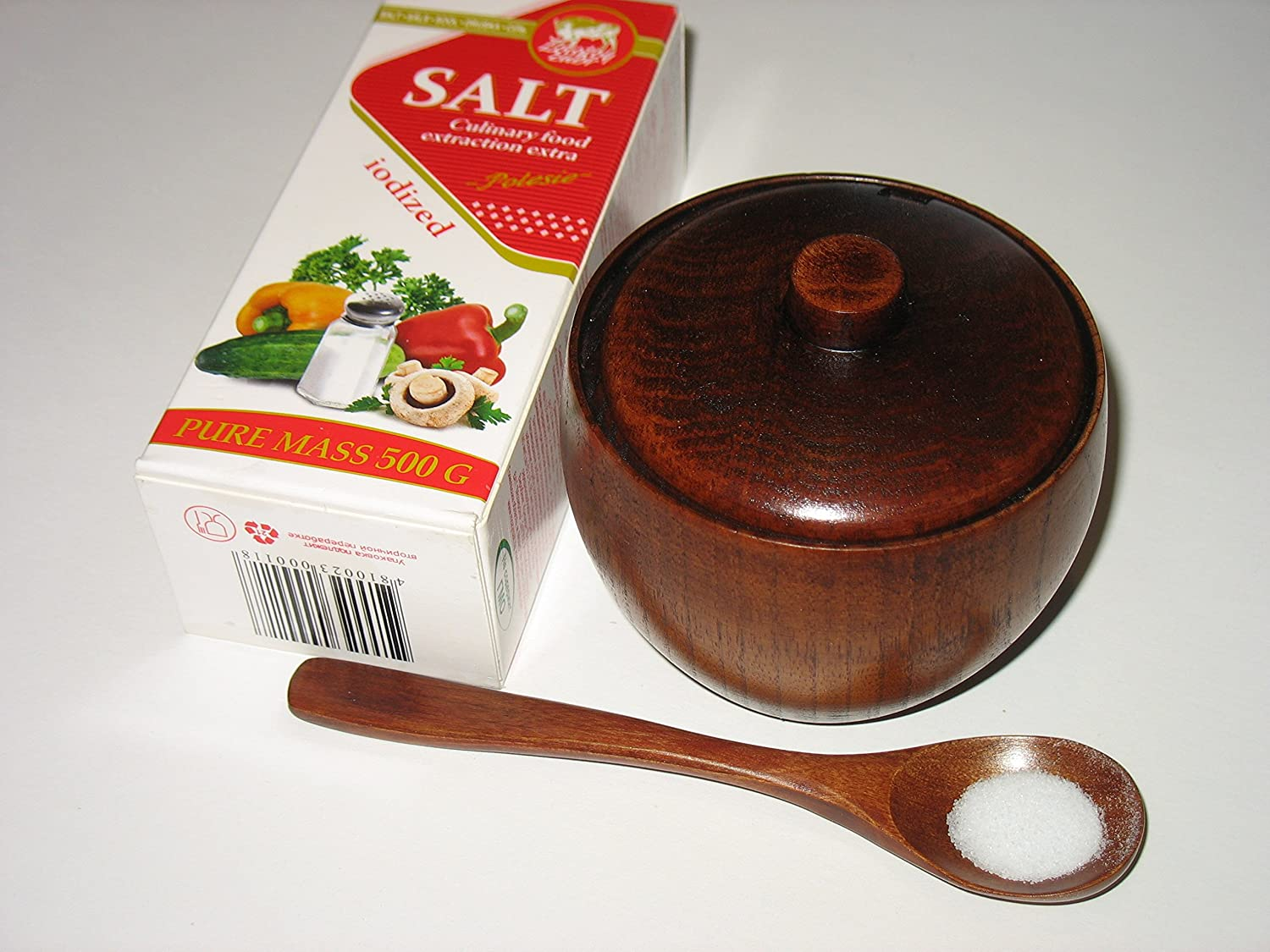 Wood Sugar Bow Sugar Bowl Set