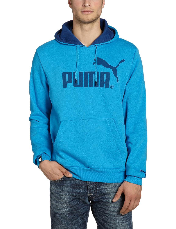 Puma Herren Sweatshirt Logo Hooded, Fleece, 819272