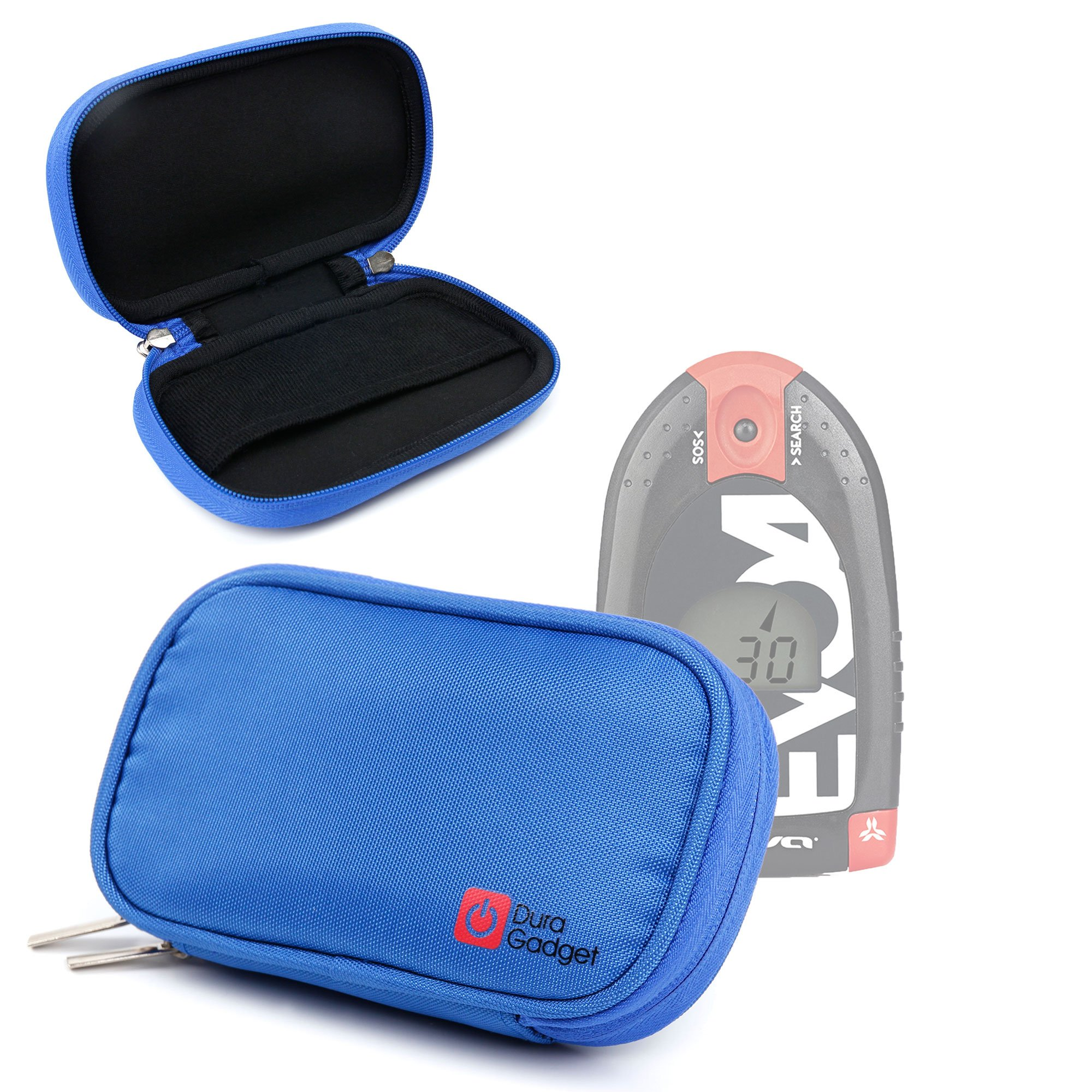 DURAGADGET High Quality Blue Memory Foam Protective Case for NEW Arva Evo 4 Avalanche Transceiver by DURAGADGET