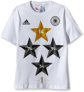 adidas DFB Germany Four Star World Cup Winners T Shirt
