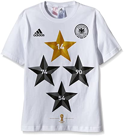adidas Kinder T-Shirt DFB Deutschland Winner 4-Sterne