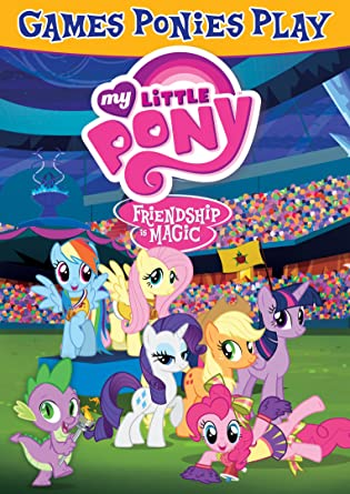 Amazon Com My Little Pony Friendship Is Magic Games Ponies Play Ashleigh Ball Tara Strong Tabitha St Germain Jayson Thiessen Movies Tv