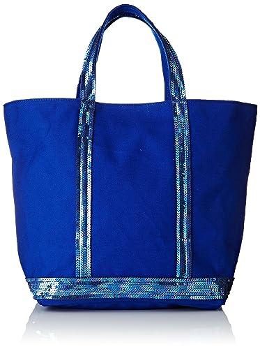 cc3a768469 Vanessa Bruno femme Cabas Moyen Cabas Bleu électrique,16x30x43 cm (W x H x