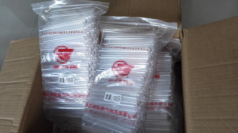 Tube /à Essai en plastique Avec Du Li/ège 20x150 mm 6 pouces 34ml Comme le Verre Pack20 Faveur de mariage Tubes toutes les Tailles Disponibles En Magasin