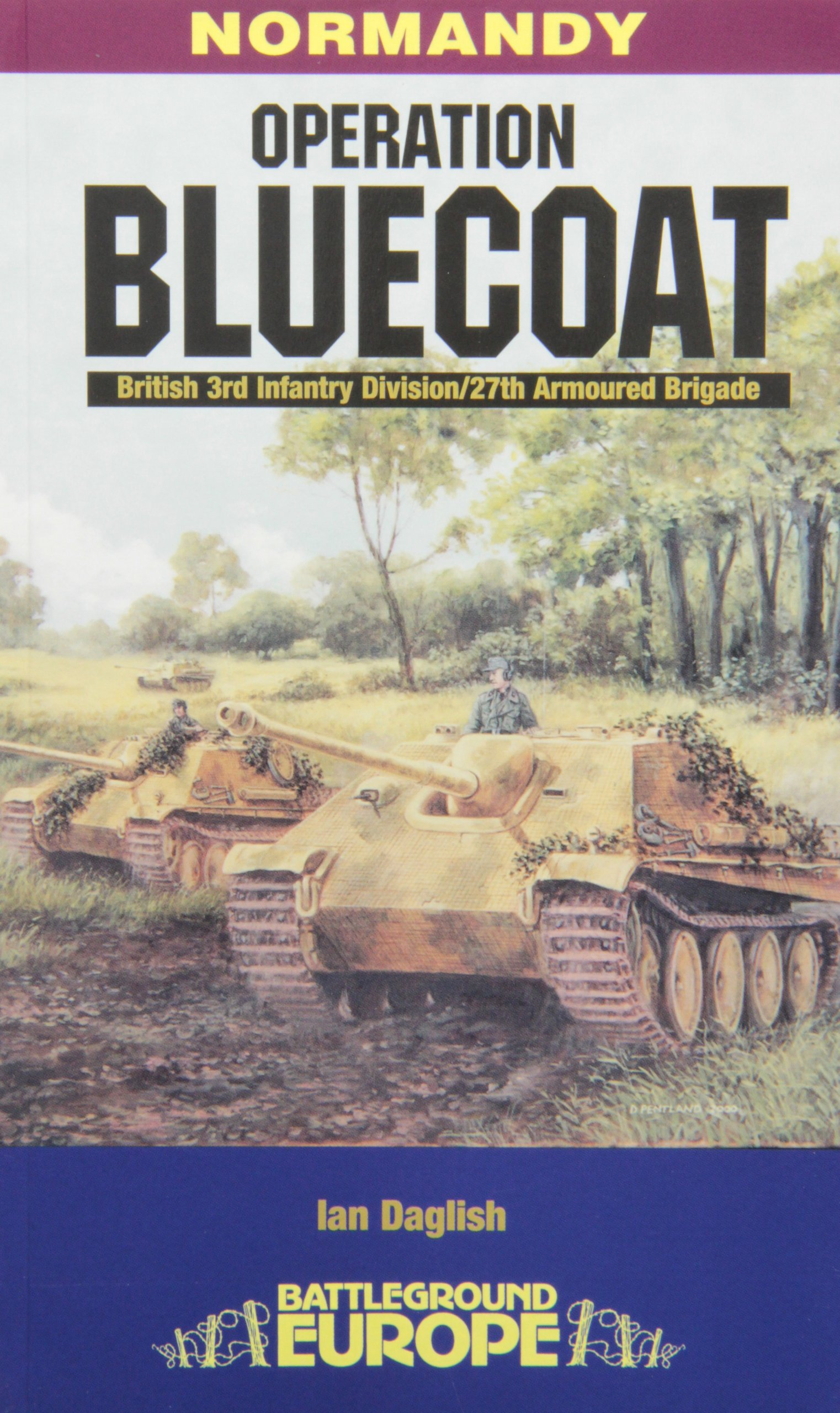 Read Online Operation Bluecoat (Battleground Europe Normandy) pdf