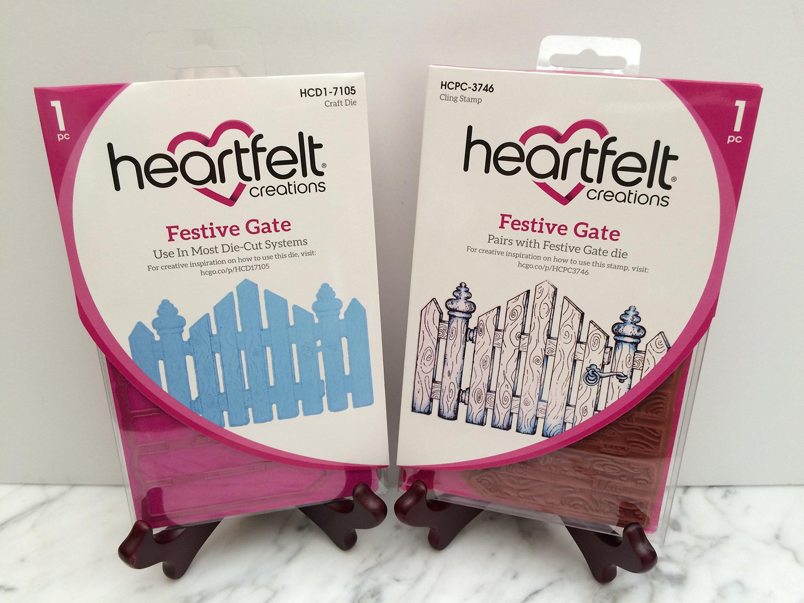 Heartfelt Creations Bundle Dies+Stamp Set Festive Gate, HCD1-7105+HCPC3746