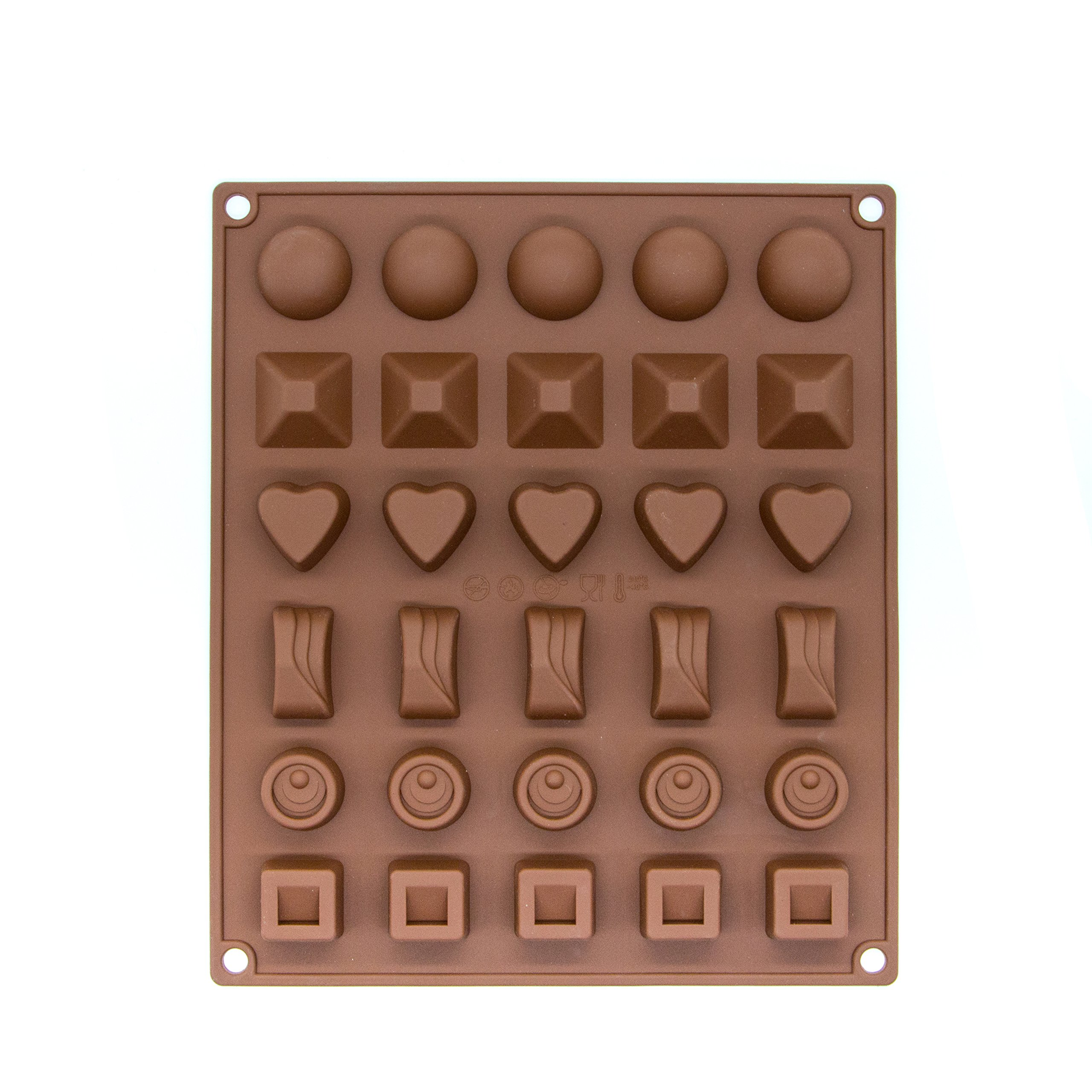 2 Pieces Silicone Baking Mold, Chocolate Candy Molds Robot for Making Cake Muffin Cupcake Gumdrop Jelly DIY
