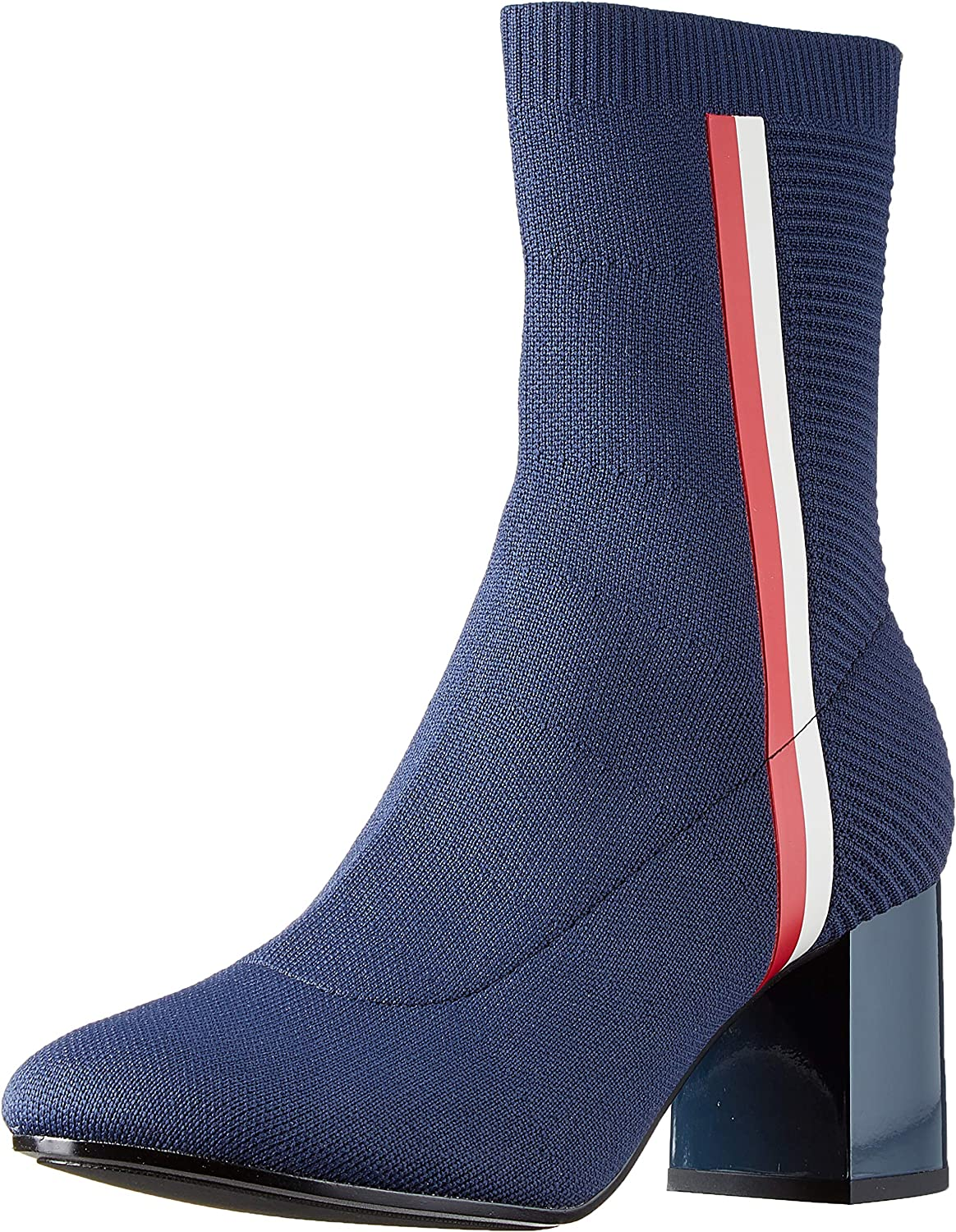 Tommy Hilfiger Knitted Heeled Boot, Botines para Mujer