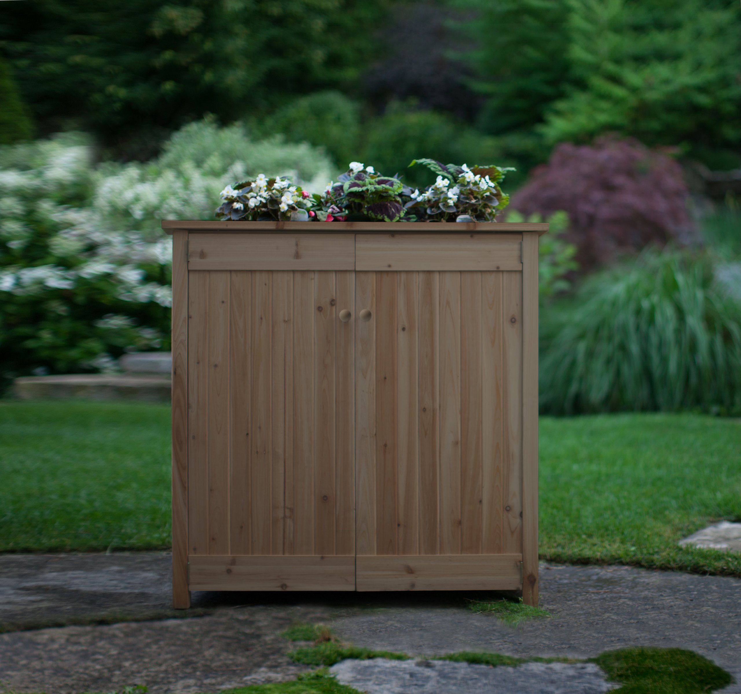 Algreen Products Ergogarden Deck Box and Elevated Planter by Algreen