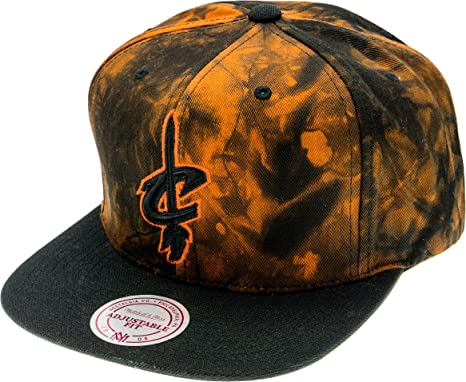 Mitchell & Ness Cleveland Cavaliers NBA Snapback Gorra: Amazon.es ...