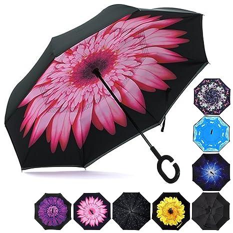 HeHe Paraguas Invertido, el Mejor Paraguas Original Inverso ...