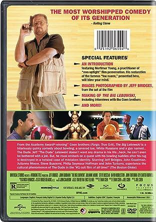 Amazon.com: The Big Lebowski: Jeff Bridges, John Goodman, Julianne Moore, Steve Buscemi, David Huddleston, John Turturro, Philip Seymour Hoffman, ...