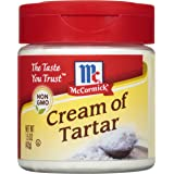 McCormick Cream Of Tartar, Essential Baking Ingredient, 1.5 oz