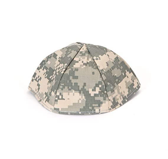 Mens Camouflage Kippah Genuine Acu Us Army Jewish Yarmulke