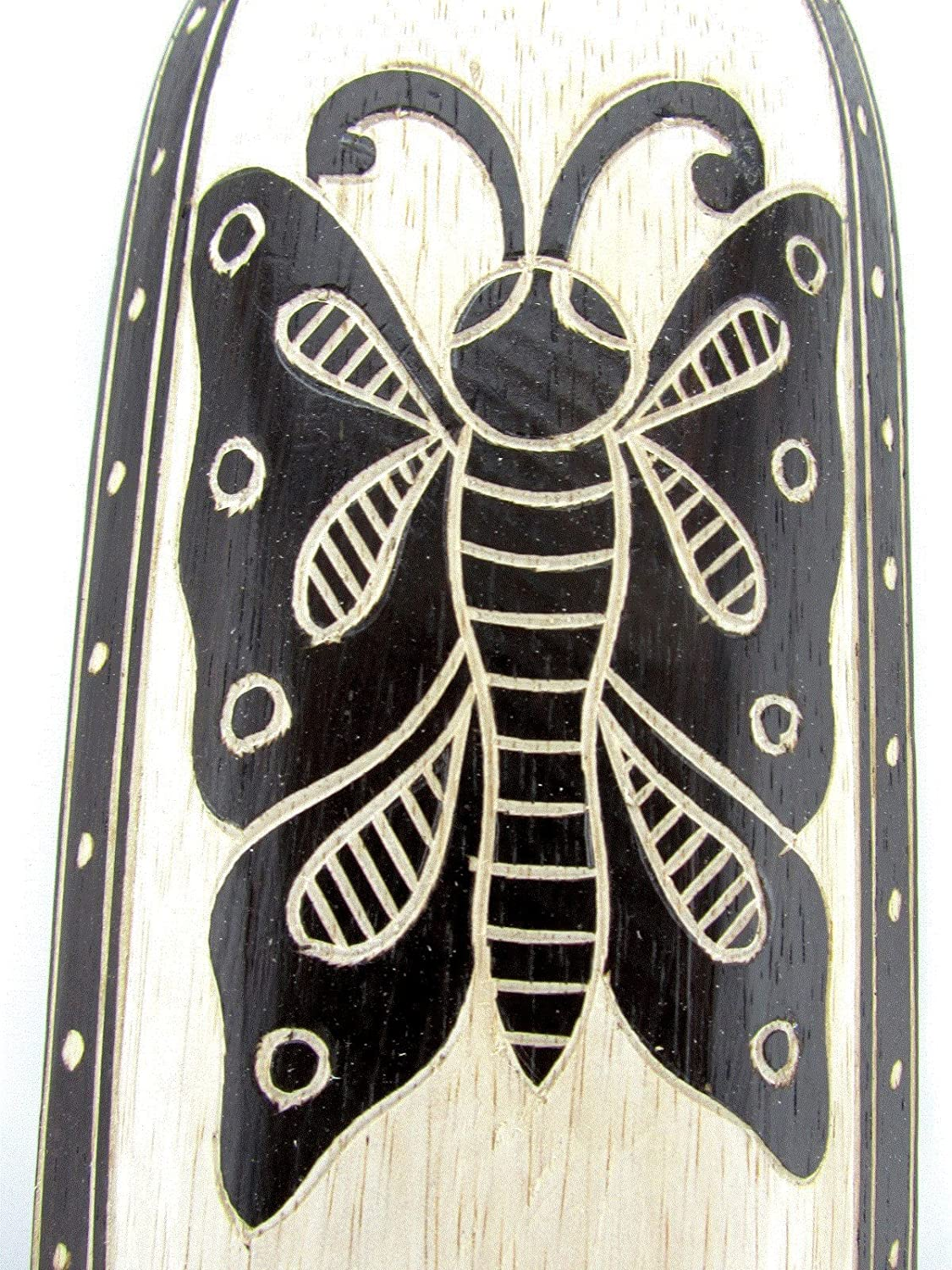 Blue Orchid African Masks Wall D/écor Large Hand Carved Wooden Animal Tribal Tiki Decorative 19 Mystic Butterfly L
