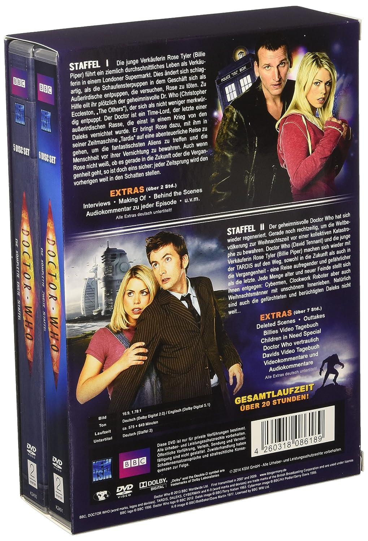 Doctor Who Die Kompletten Staffeln 12 11 Dvds Amazonde