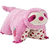 """Pillow Pets 18"""" Sweet Scented Strawberry Sloth Stuffed Animal Plush Toy"""