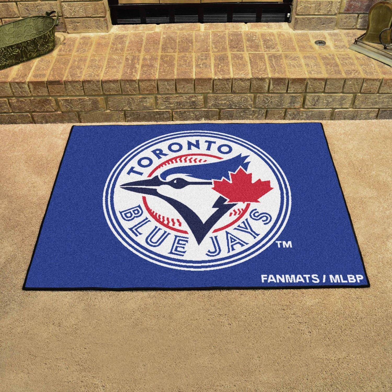 FANMATS MLB Toronto Blue Jays Nylon Face Carpet Car Mat