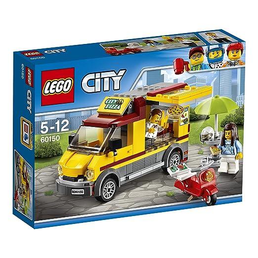643 opinioni per LEGO City 60150- Great Vehicles Furgone delle Pizze