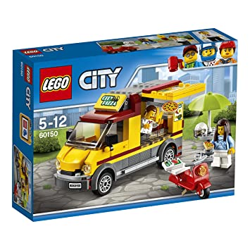 Lego city camin de pizza 60150 amazon juguetes y juegos lego city camin de pizza 60150 voltagebd Gallery
