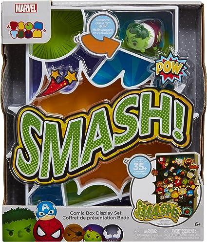 SMASH! Marvel Tsum Tsum Comic Box Display Set