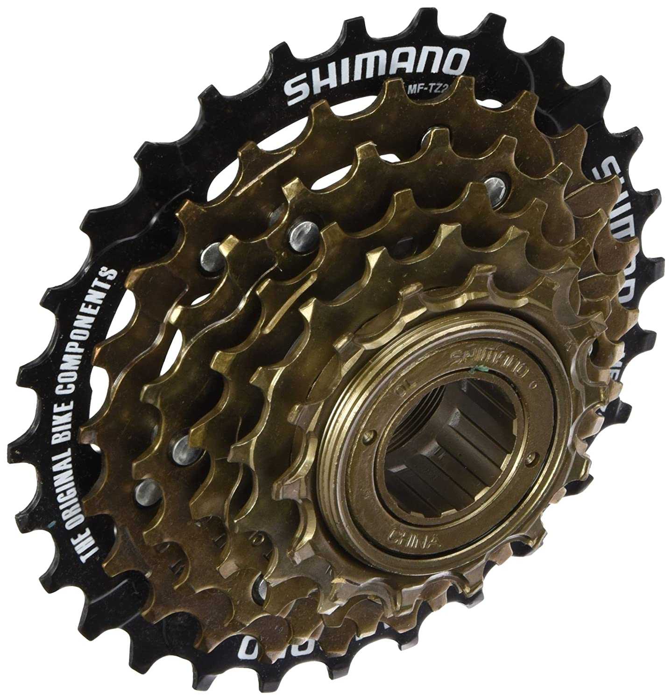 Shimano Tourney 6 Velocidad Bicicleta de monta/ña ScrewOn Freewheel MFTZ20