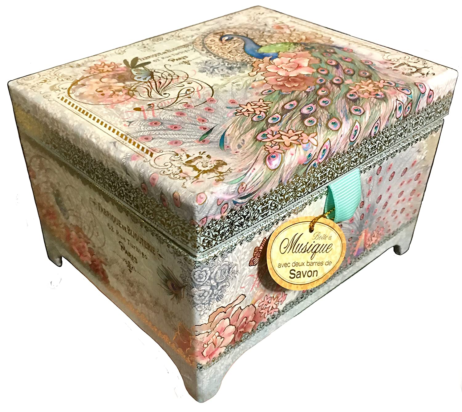 Amazon Punch Studio Swan Lake Music Chest Box with Two Lavender