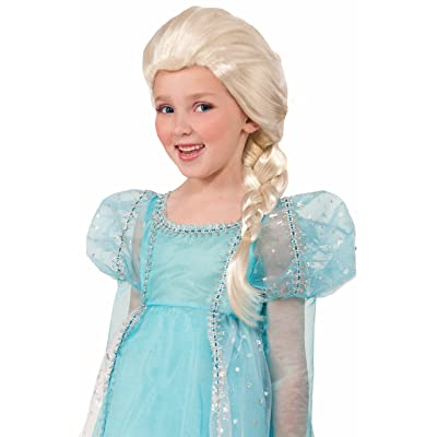 Forum Side Braid Child Princess Wig, Blonde: Toys & Games