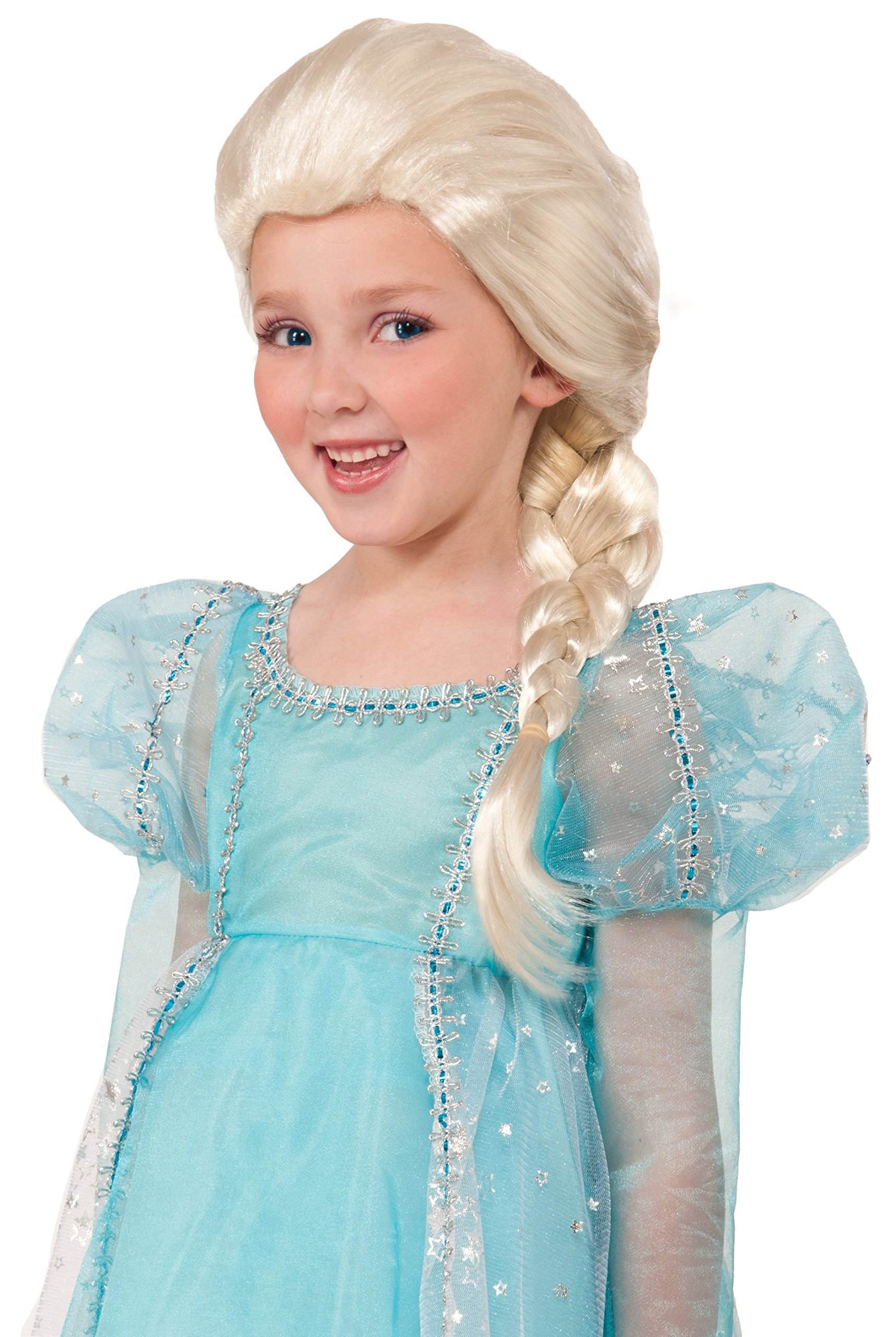 Forum Side Braid Child Princess Wig, Blonde by Forum Novelties