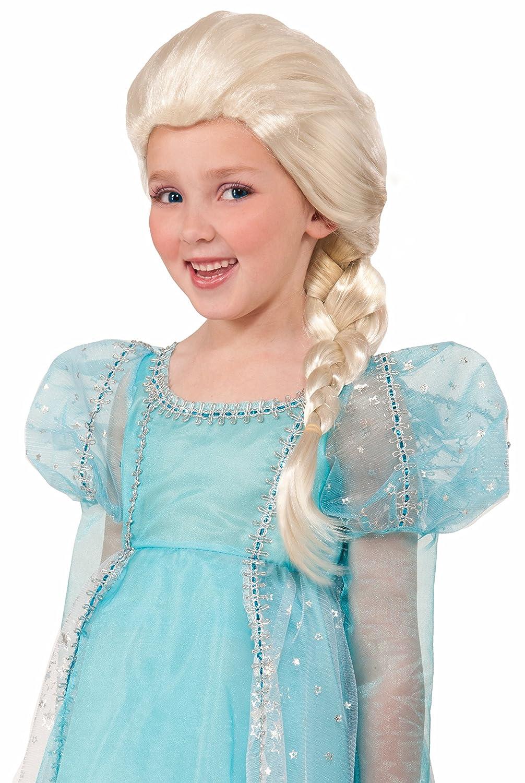 Amazon.com: Rubia Princesa Peluca Niño, talla única , Rubia ...