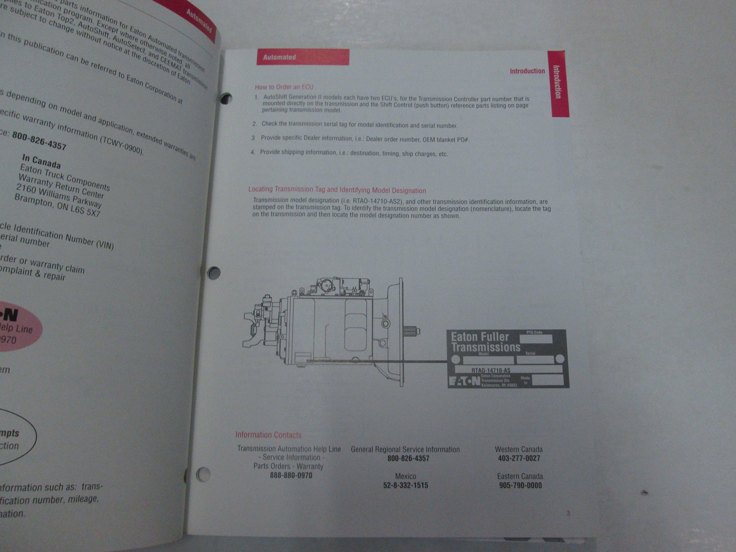 Eaton Autoshift Gen 1 Wiring Diagram