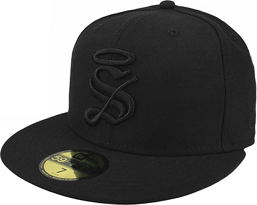 New Era 59Fifty Hat Santos Laguna Soccer Club Mexican League Black Fitted Cap (6 7