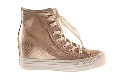 converse chuck taylor all star platform plus rose gold