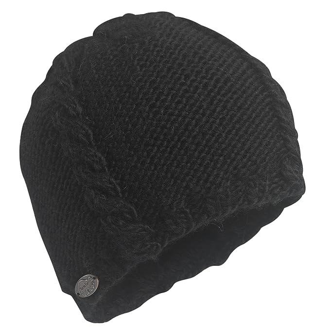 76f816587ecd9 Amazon.com  Turtle Fur Cable Heavyweight Merino Wool Hand Knit Beanie