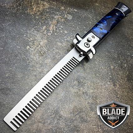 Amazon com : Automatic G'store Folding Switchblade Knife : Sports