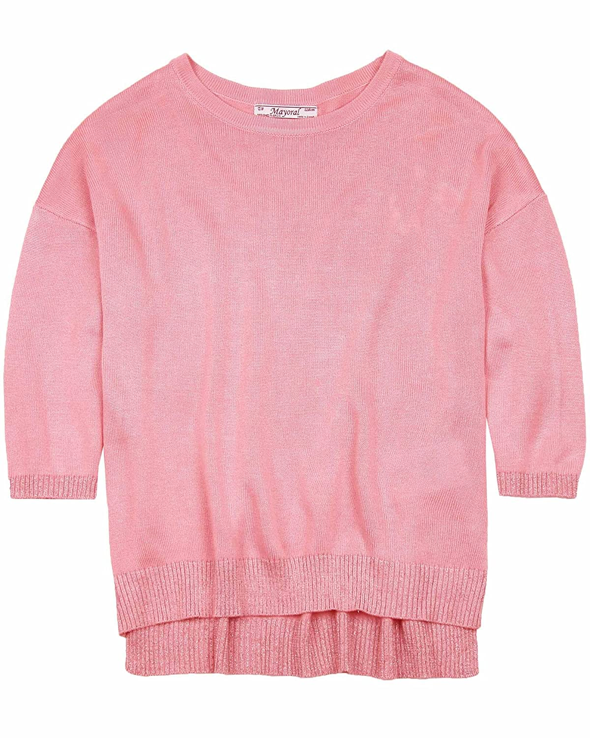 Mayoral Junior Girls Knit Pullover Sizes 8-18
