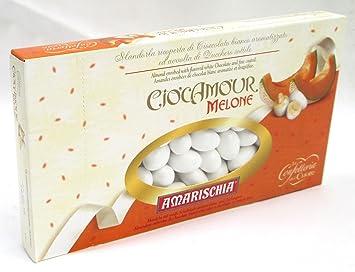 "Amarischia: ""Ciocamour"" Almond Dragees ""Melone"", Melon Flavour *"