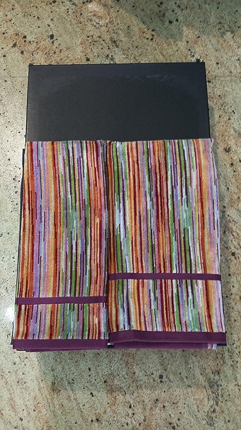 Juego de toalla Toalla de cara Toalla MISSONI dibujo RONAN color 159