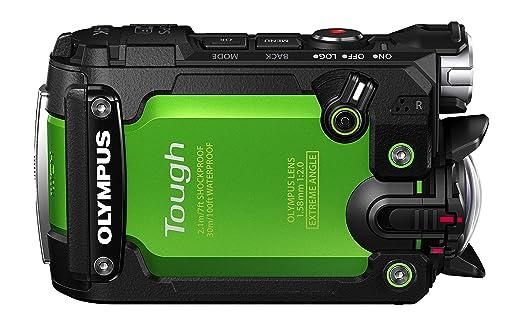 7 opinioni per Olympus TG-Tracker G Videocamera per Attività Estreme, CMOS, Video 4K, Verde