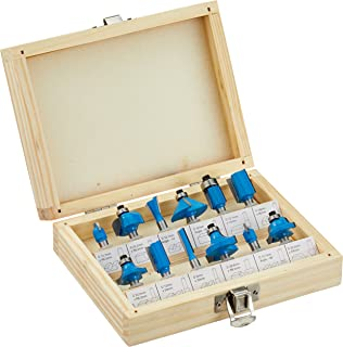 Bosch pof 1200 ae router amazon diy tools silverline 792084 025 inch tct router bit set 025 inch 12 piece set greentooth Images