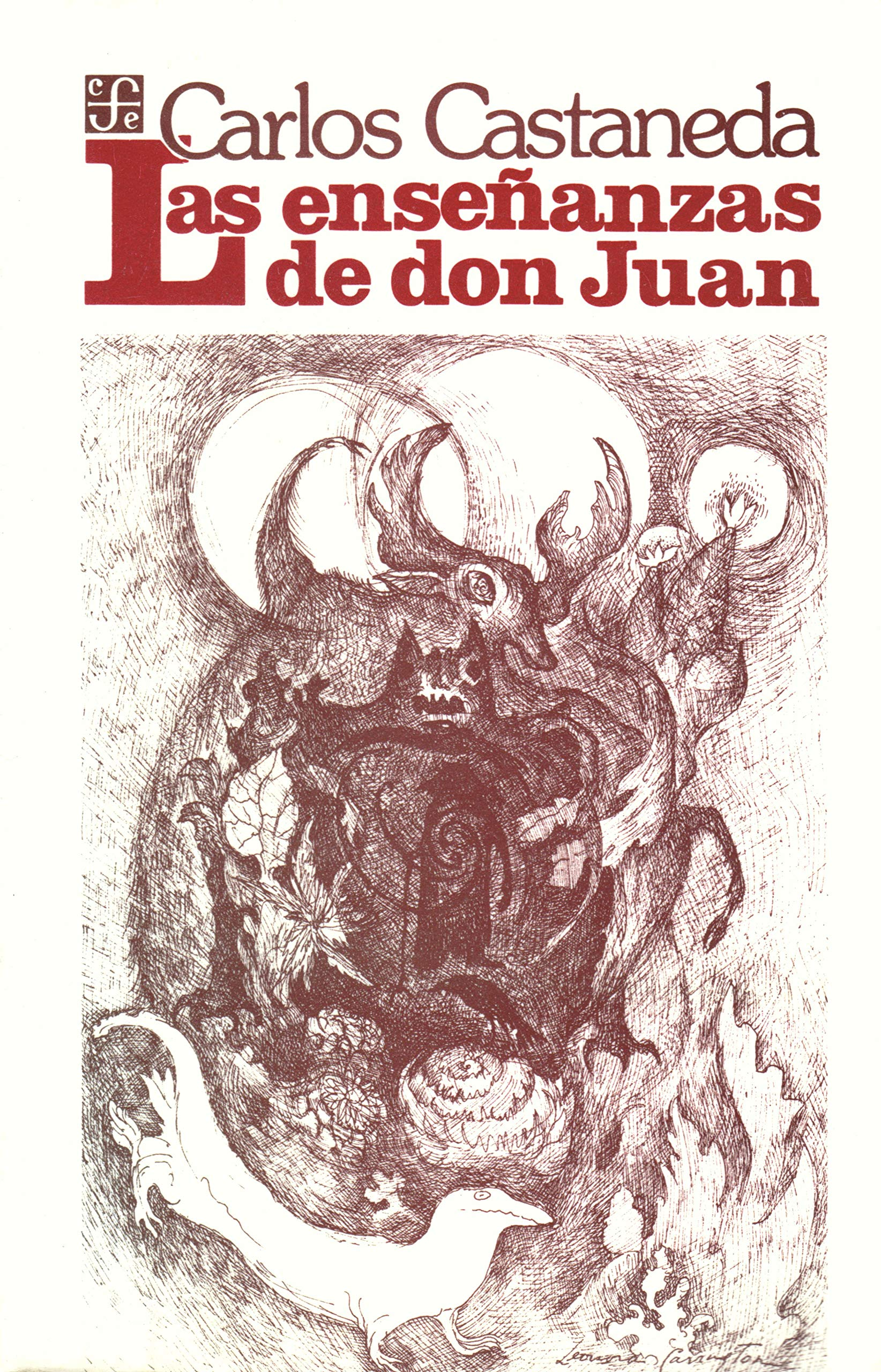 Ensenanzas De Don Juan The Teachings Of Don Juan Amazon Co Uk Castaneda Carlos 9789681601690 Books