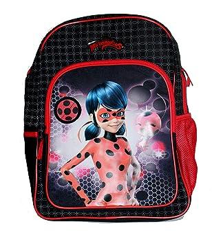 454c82724 Vadobag Miraculous Lady Bug Children's Backpack Girl's Rucksack School Bag  Plus 24 Stickers