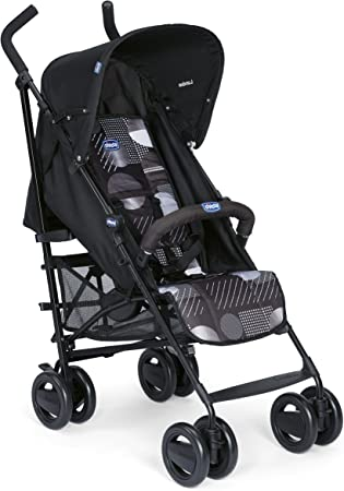 Compacta y manejable,Práctica y fácil de usar,Cierre compacto tipo paraguas,Respaldo reclinable en 4