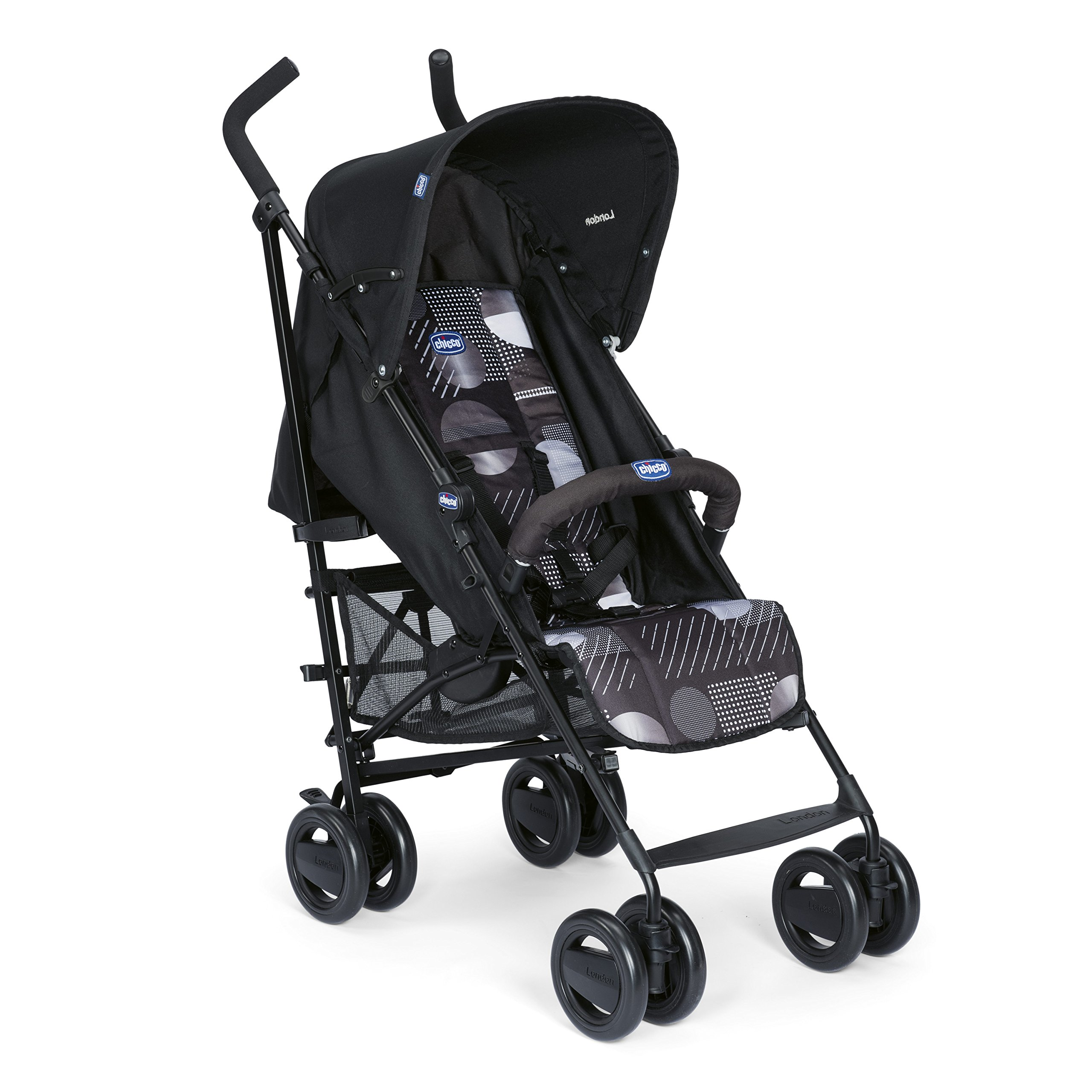 15f16d548 Chicco London - Silla de paseo, 7.2 kg, compacta y manejable, color negro