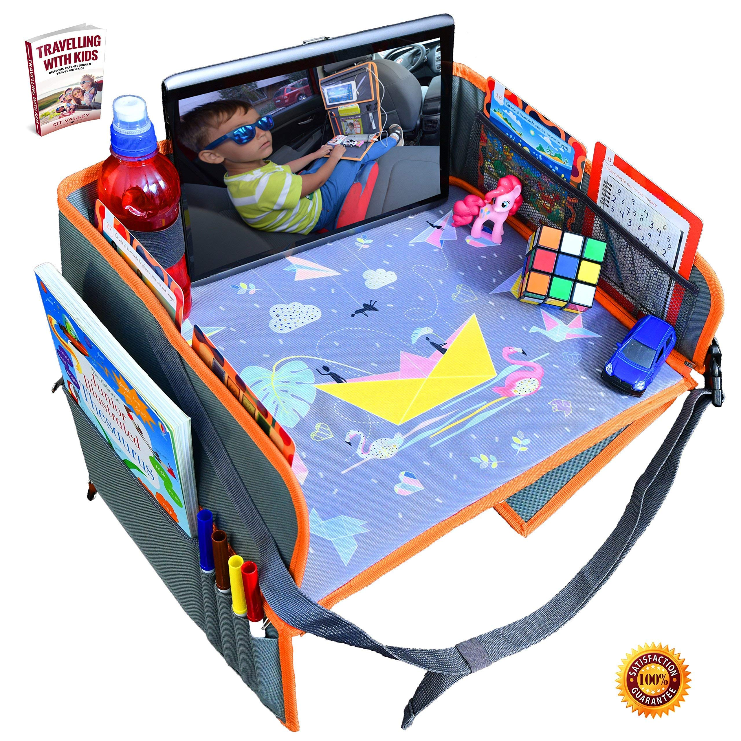 Car Seat Lap Travel Tray For Children By OT Valley