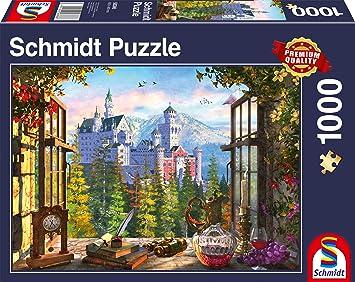 Multicolore Puzzle Da 1000 Pezzi Soggetto Terrazza Italiana