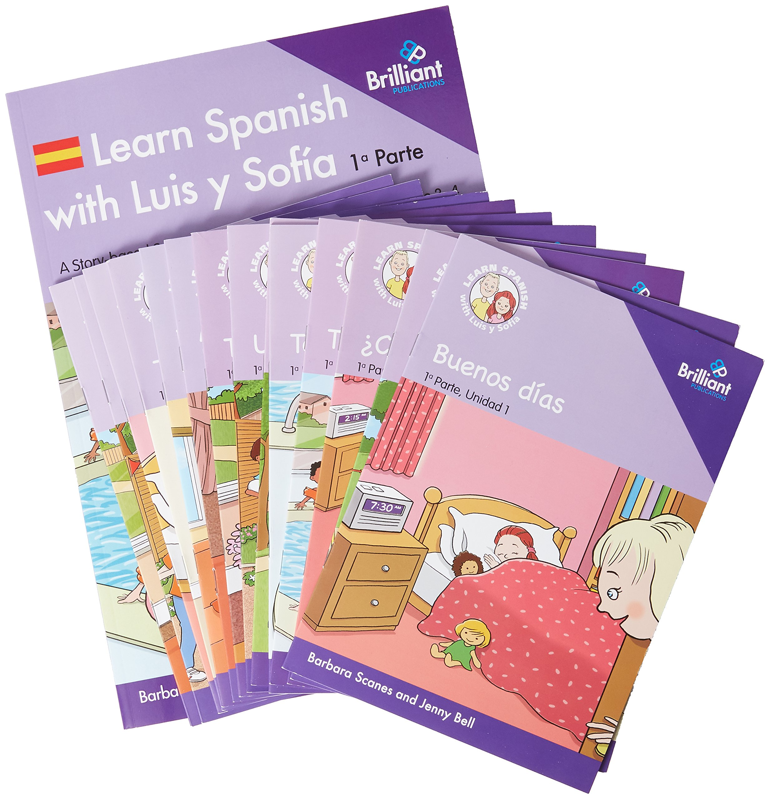 Download Learn Spanish with Luis y Sofia, Part 1 Starter Pack, Years 3-4 PDF