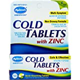 Amazon Com Hylands Cold Tablet With Zinc 50 Per Pack 6 Packs