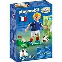 Playmobil Joueur de Foot Français, 9513, Multicolore