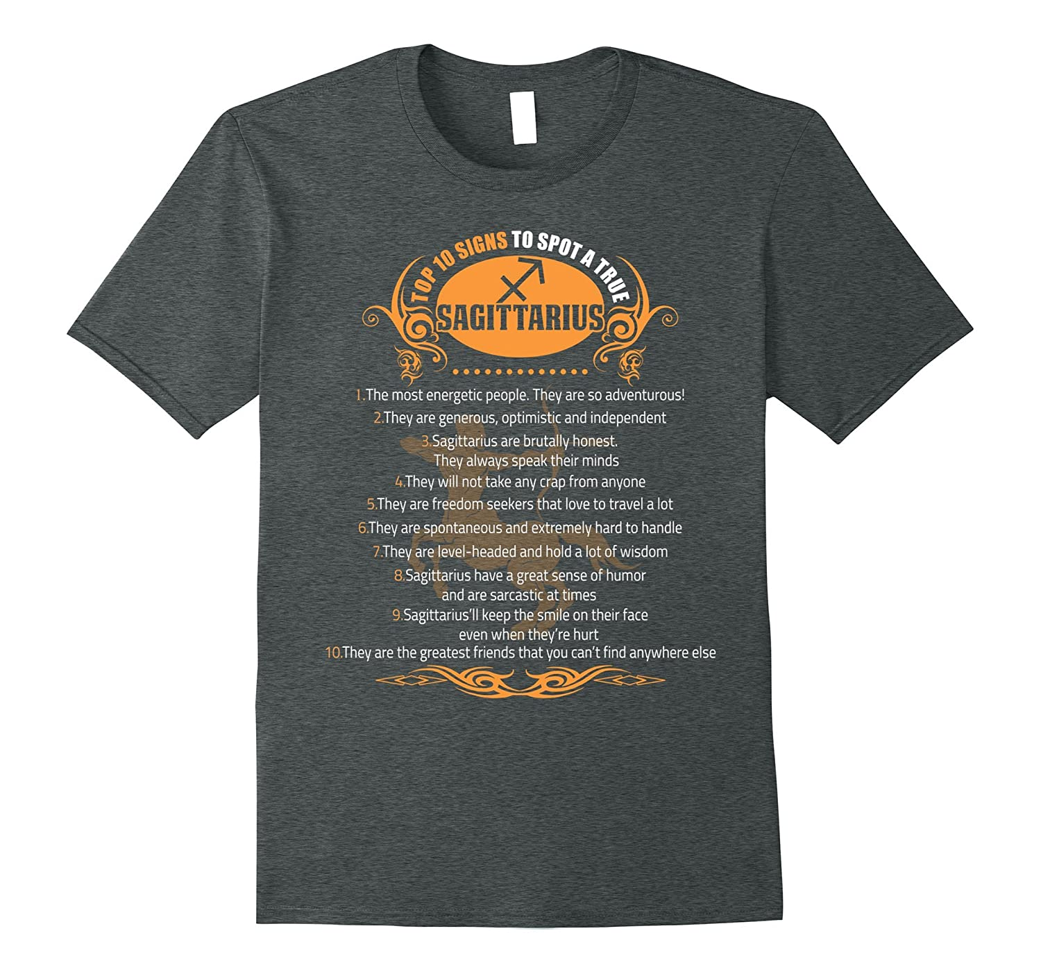 10 Signs To Spot A True Sagittarius T-shirt Astrology